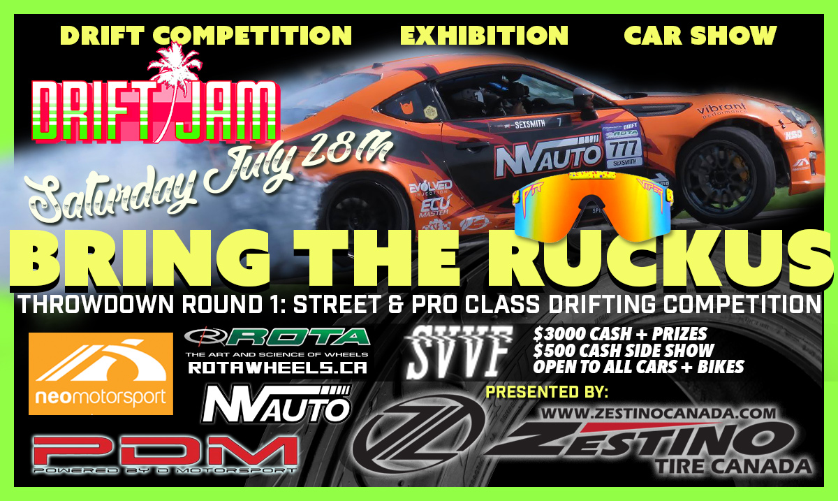 Drift Jam Throwdown Round 1: Bring the Ruckus